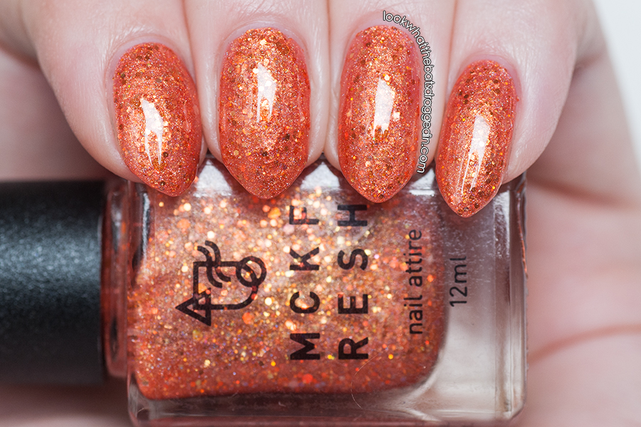 Mckfresh Nail Attire Planeteers polish collection Fire