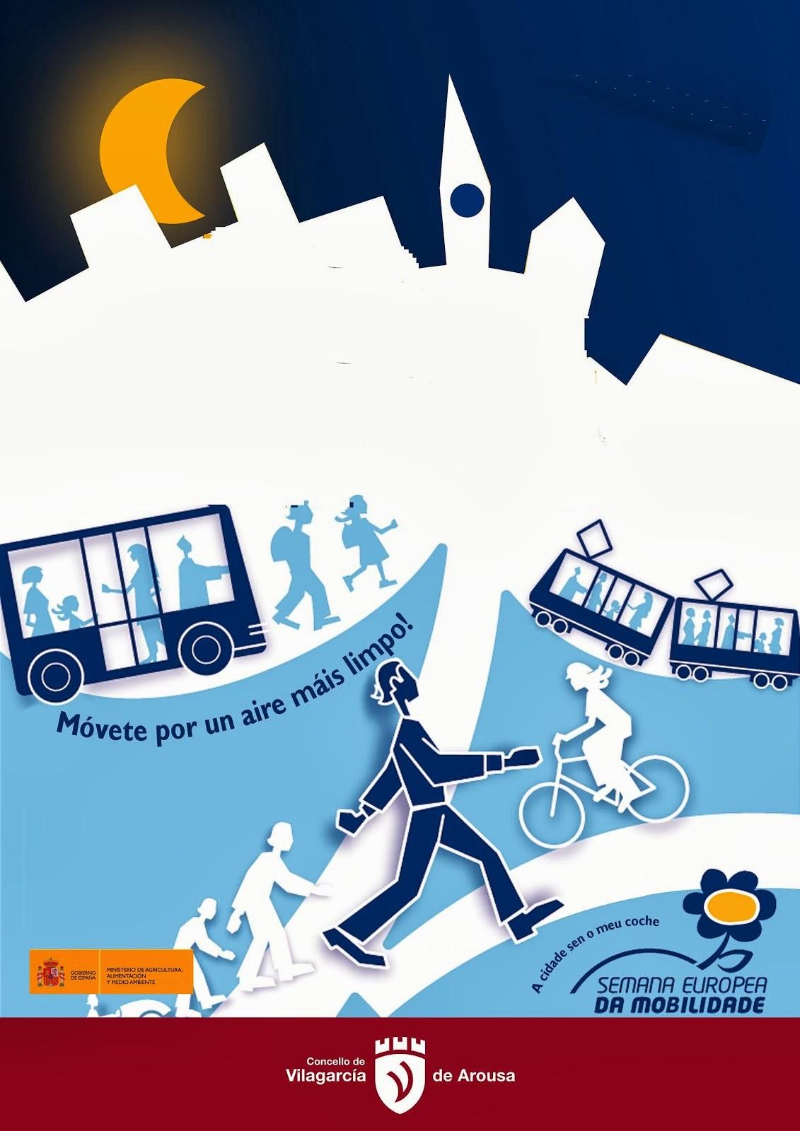 Semana europea da mobilidade: Móvete por un aire máis limpo!