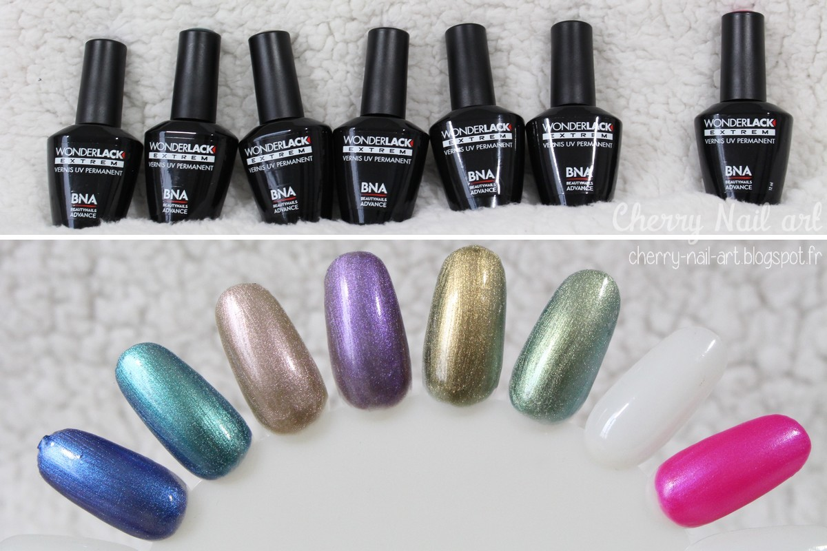vernis permanent wonderlack bna beautynails advance collection aluminium