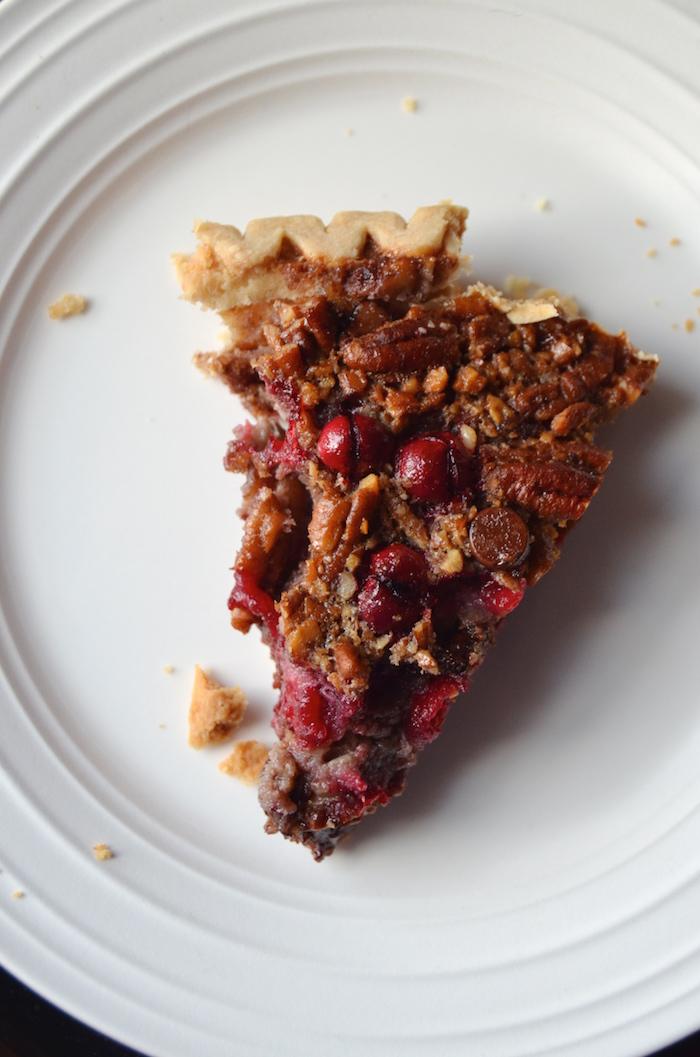 Maple Cranberry Pecan Pie - Always Order Dessert