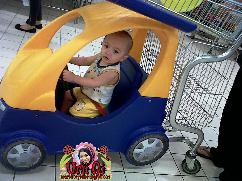 Qi driving in Giant