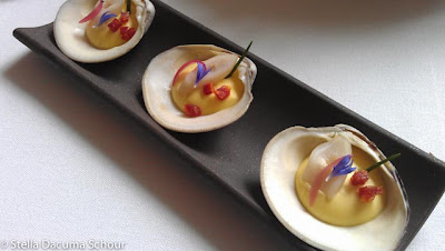 Manila-clams-with-chive-and-potato-Eleven-Madison-Park-Stella-Dacuma-Schour-food-photography