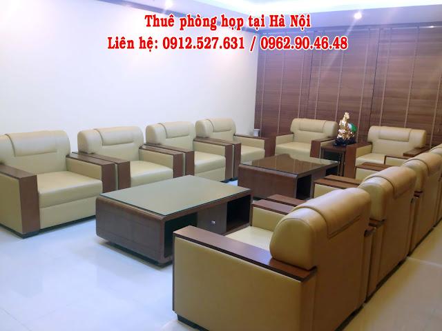 Cho thuê phòng họp VIP 10 chỗ