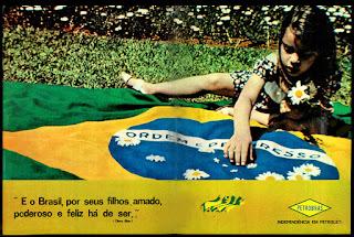 Petrobras,  1972; os anos 70; propaganda na década de 70; Brazil in the 70s, história anos 70; Oswaldo Hernandez;