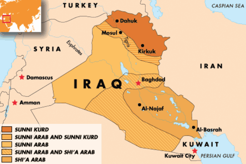 Viable Opposition The Significance of Iraqs Oil Production – Map of Iraqi Oil Fields
