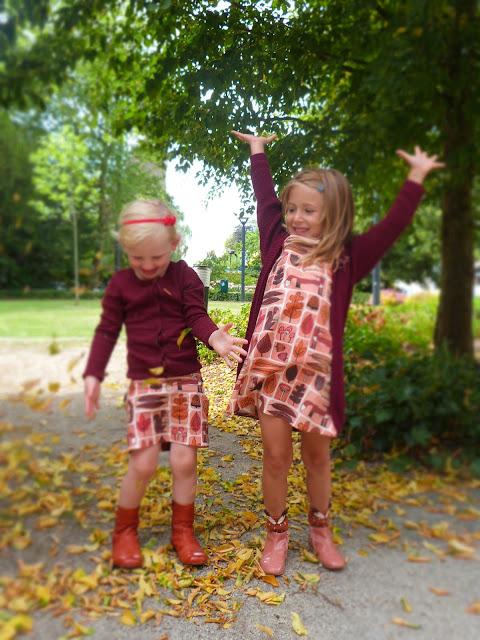 Fall leaves contest, Andrea Lauren, Spoonflower
