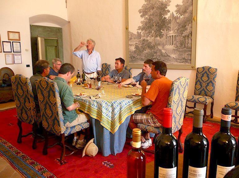 degustazione in Tuscany