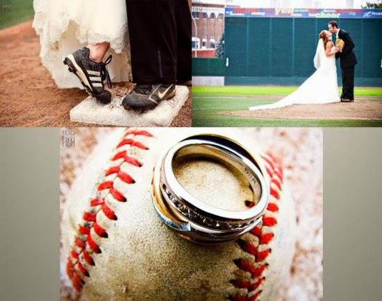 Sports themed wedding ideas