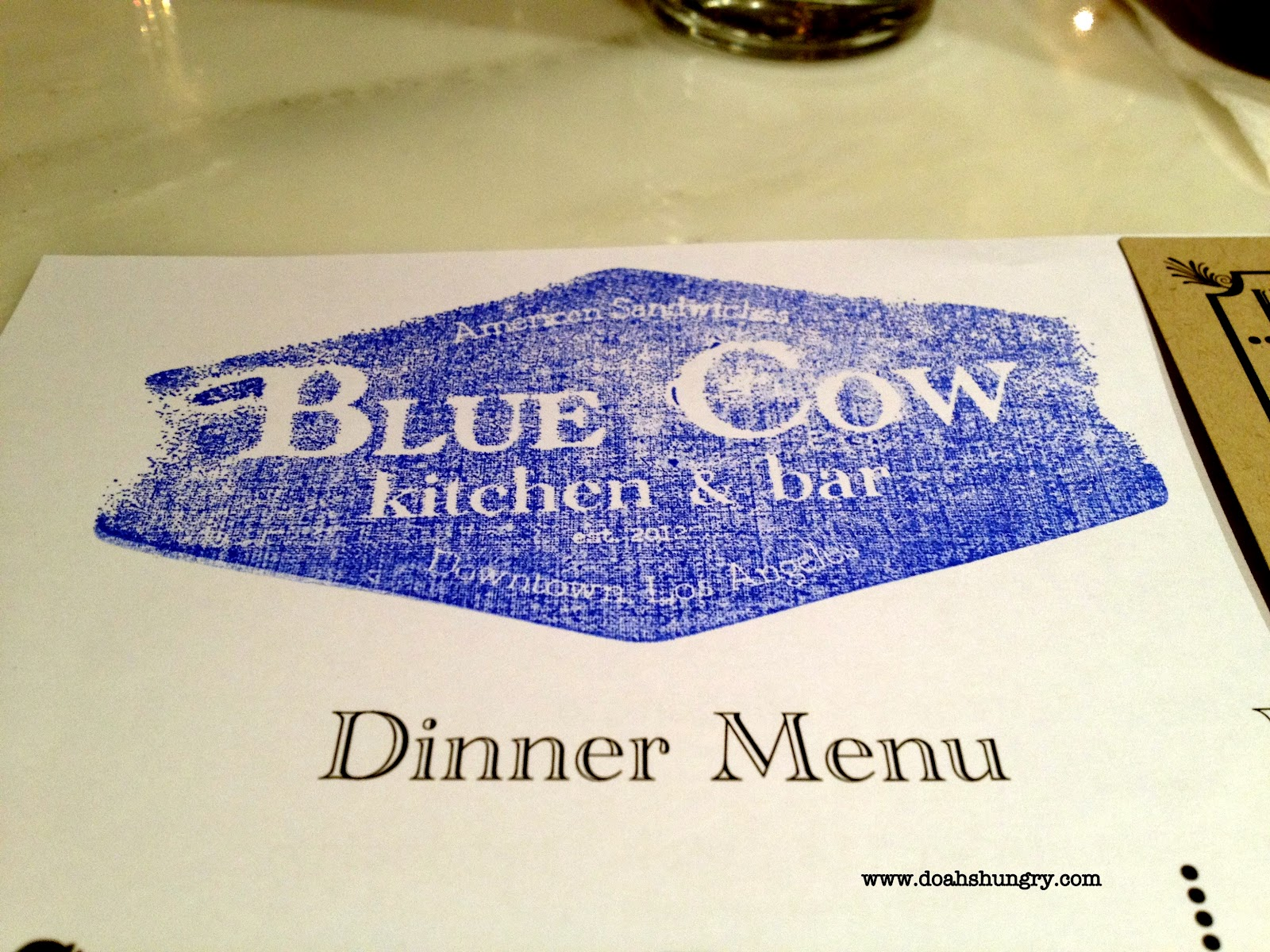 Blue Cow Kitchen And Bar Doahs Hungry Blue Cow Kitchen Bar