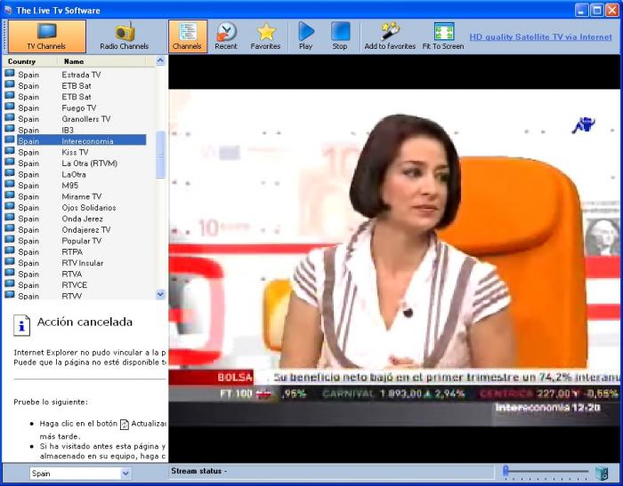 Screenshots di readon tv movie radio player 5900
