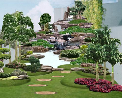 ... Contoh Design Eksterior Taman Rumah Minimalis Dengan Harga Murah