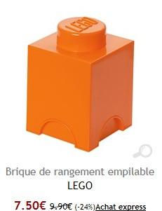 Brique lego brandalley la selection de zoe - Brique rangement lego ...