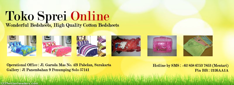 Jual Sprei, Harga Grosir, Sprei Murah, Sprei Katun, Bedcover, Selimut, Sarung Bantal Cinta