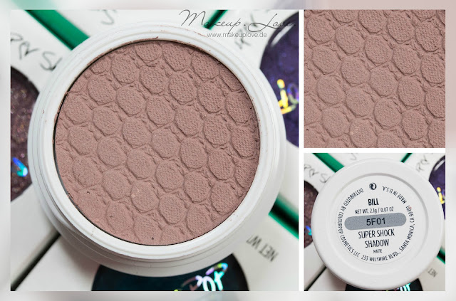 Colourpop Super shock shadow bill swatch