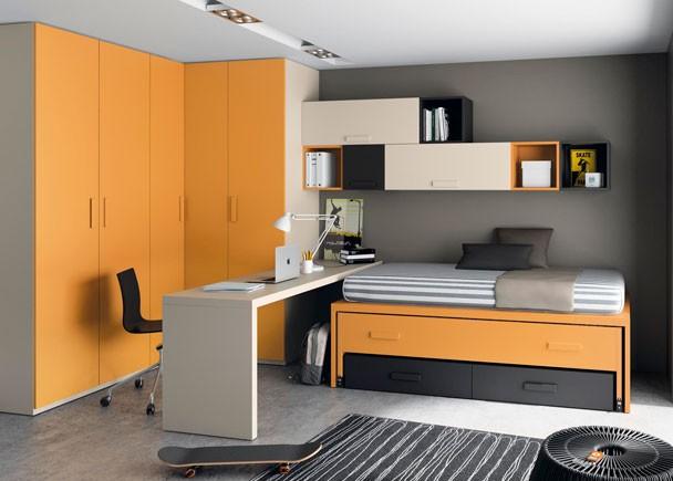 Habitaciones juveniles para adolescentes y jovenes for Habitaciones juveniles