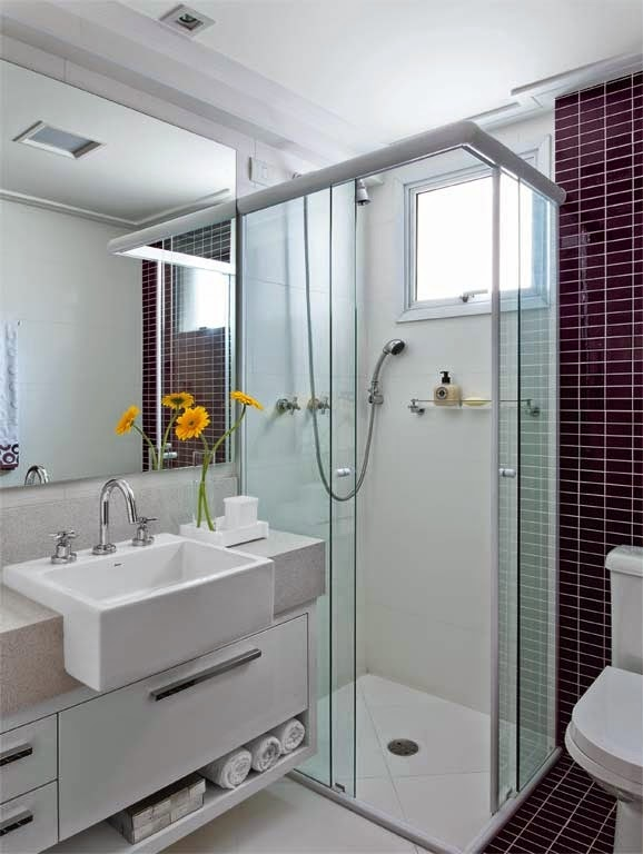 Cubas para banheiros e lavabos!  Jeito de Casa  Blog de Decoração -> Pia Banheiro Semi Encaixe