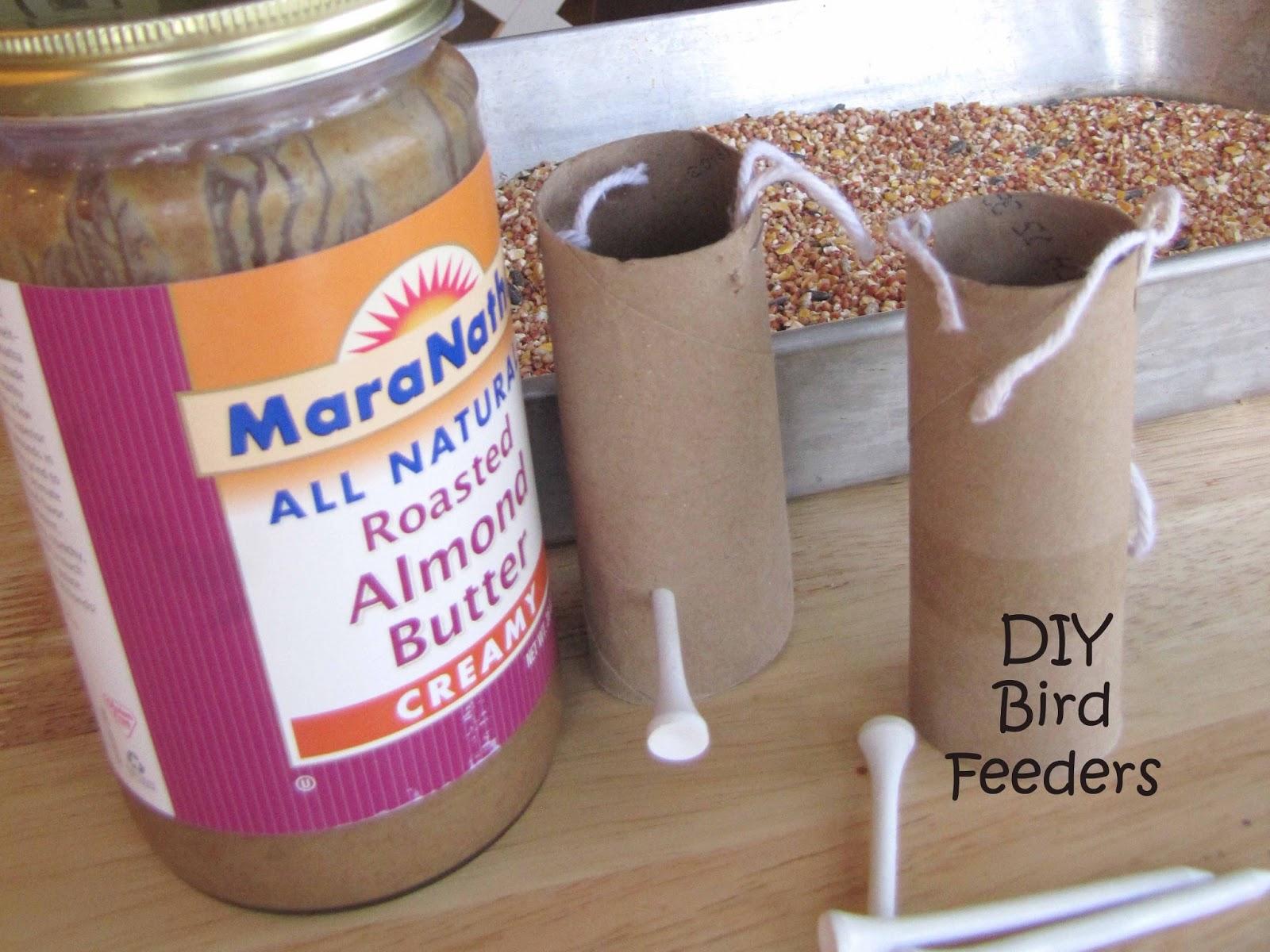 DIY alimentadores de aves