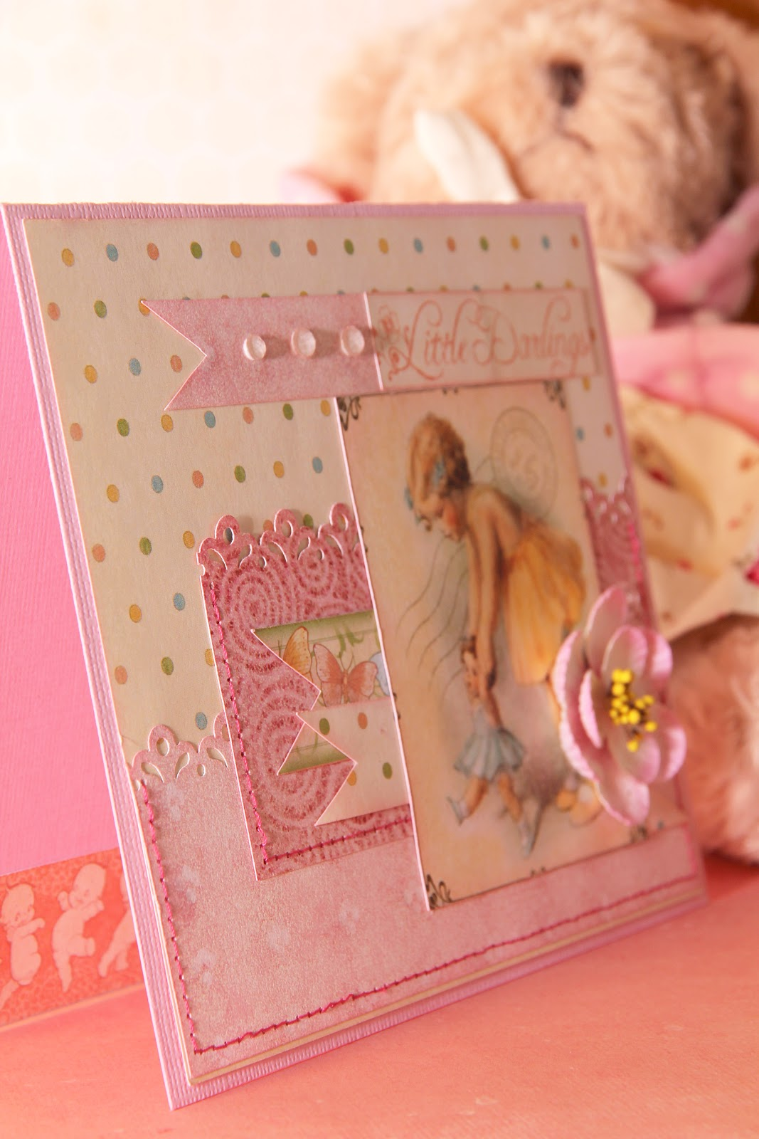 Открытка для маленькой девочки фото
