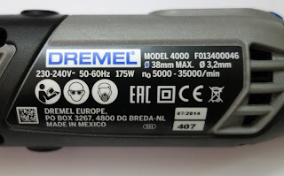 Dremel 4000 specification