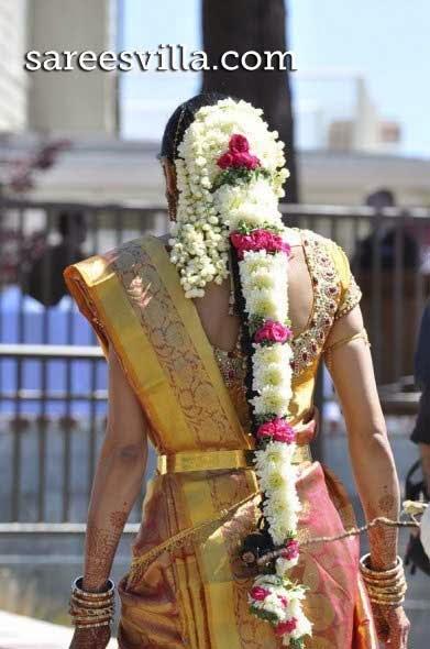South Indian Bridal Hairstyles Sarees Villa