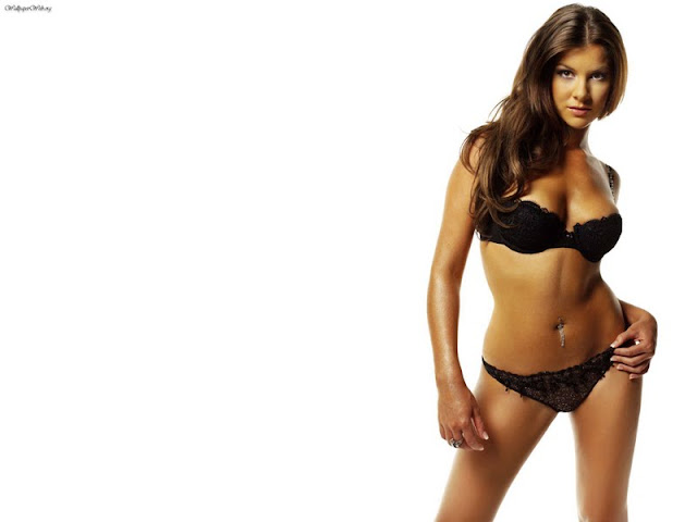 Imogen Thomas in Lingerie