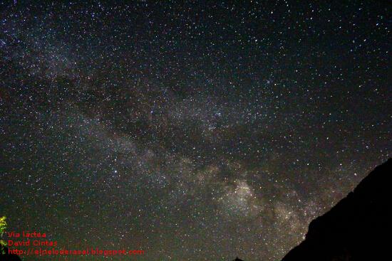 Via Lactea Galaxia El cielo de Rasal