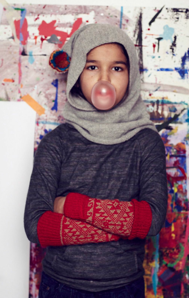 Funky kids knits by Cabbages and Kings AW14 - fair trade