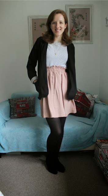 OOTD: Pointed Flats and a Blazer New Look Primark H&M Accessorise Fashion Blog Blogger