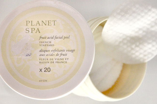 "Avon ""Planet Spa"" fruit acid facial peel. Fruit acid products. Avon skincare."