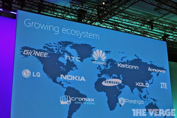 Windows Phone partners