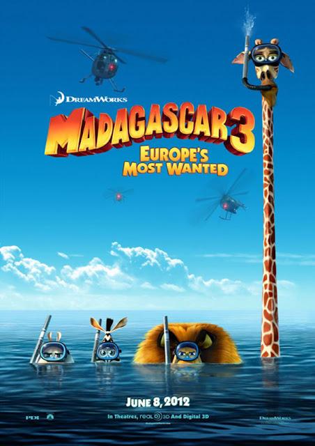 Madagascar 3: Los mas buscados de Europa