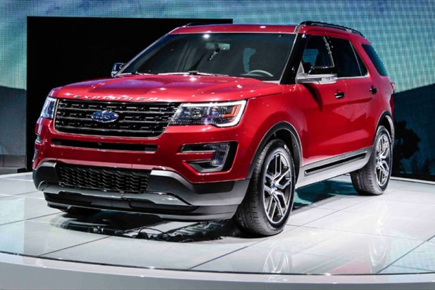 2017 Ford Explorer Sport Photo
