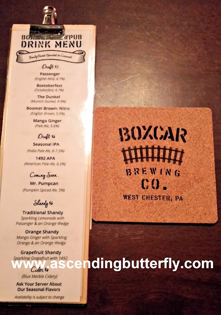 Boxcar Brewing Co., Boxcar Brew Pub, BrandyWine Valley, #BVFoodie