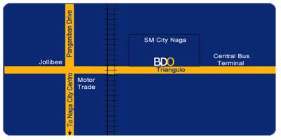 Banco de Oro BDO SM City Naga City Camarines Sur Philippines