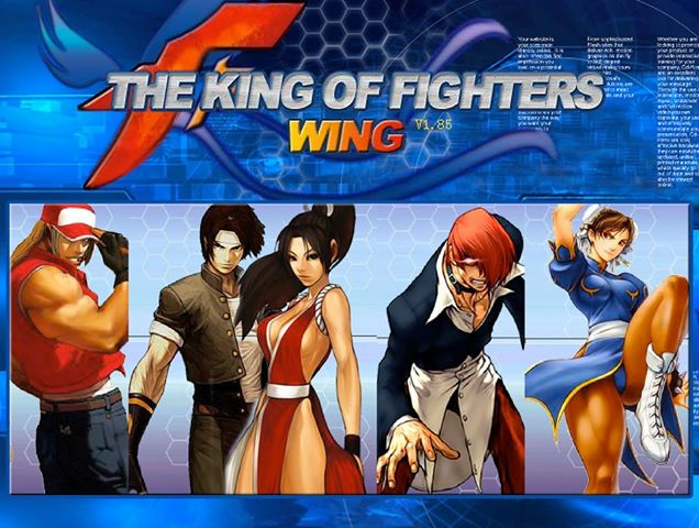 the king of fighter wing 19 full all types of softwears