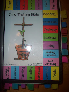 Front page of  Child Training Bible