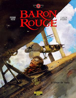 """BARON ROUGE T2. """"PLUIE DE SANG"""""""
