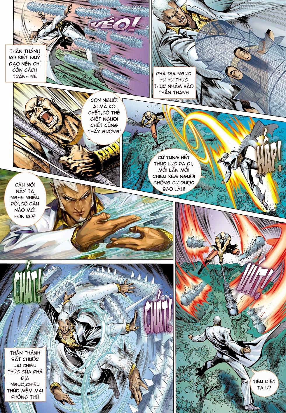 Thần Binh 4 chap 25 - Trang 22