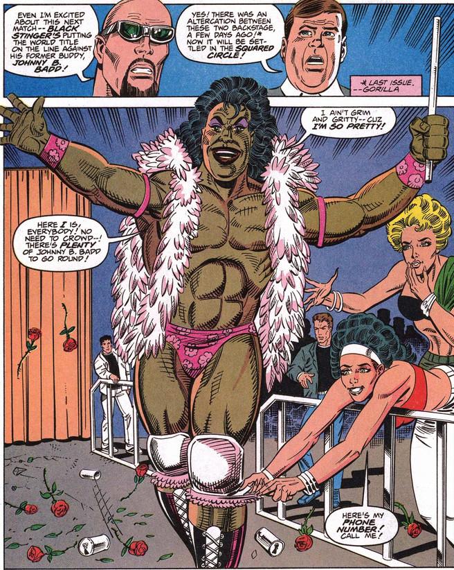 WCW Marvel Johnny B. Badd Marc Mero