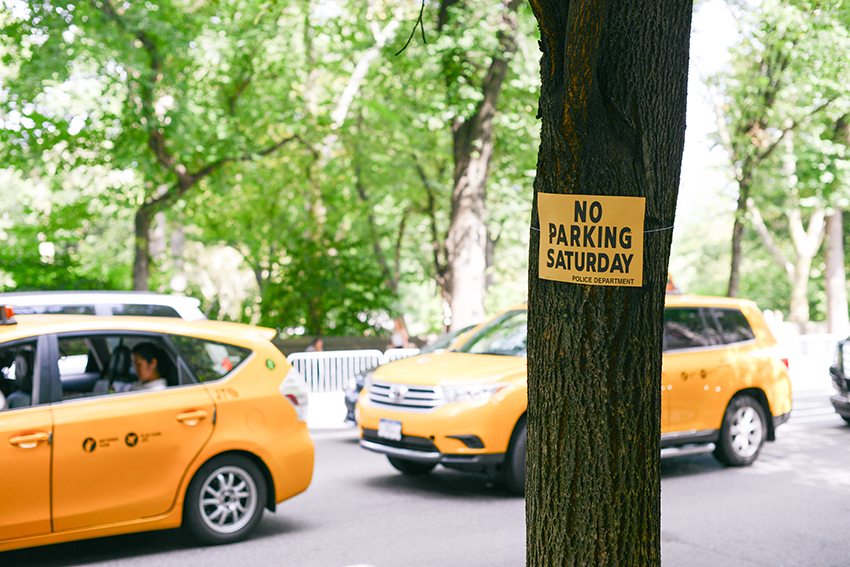 the petticoat new york diary photo central park no parking saturday taxi sirographics