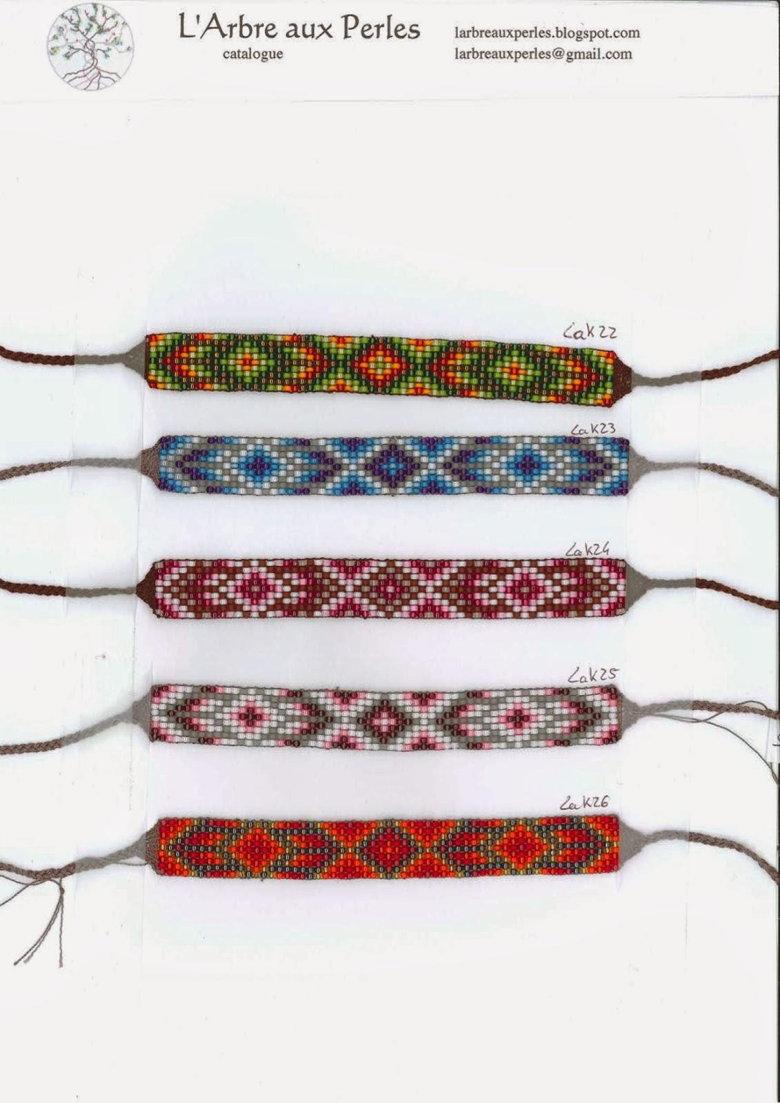 l 39 arbre aux perles bracelets toho catalogue 4 4 collection lakota. Black Bedroom Furniture Sets. Home Design Ideas