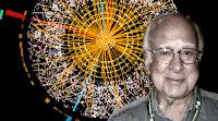 El asímétrico rostro de Higgs, sobre una imagen rara, rara.
