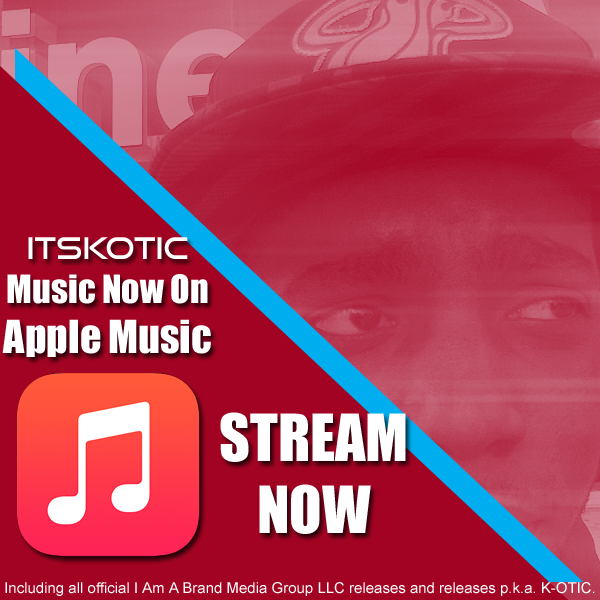 itskotic K-OTIC Apple Music flyer logo image