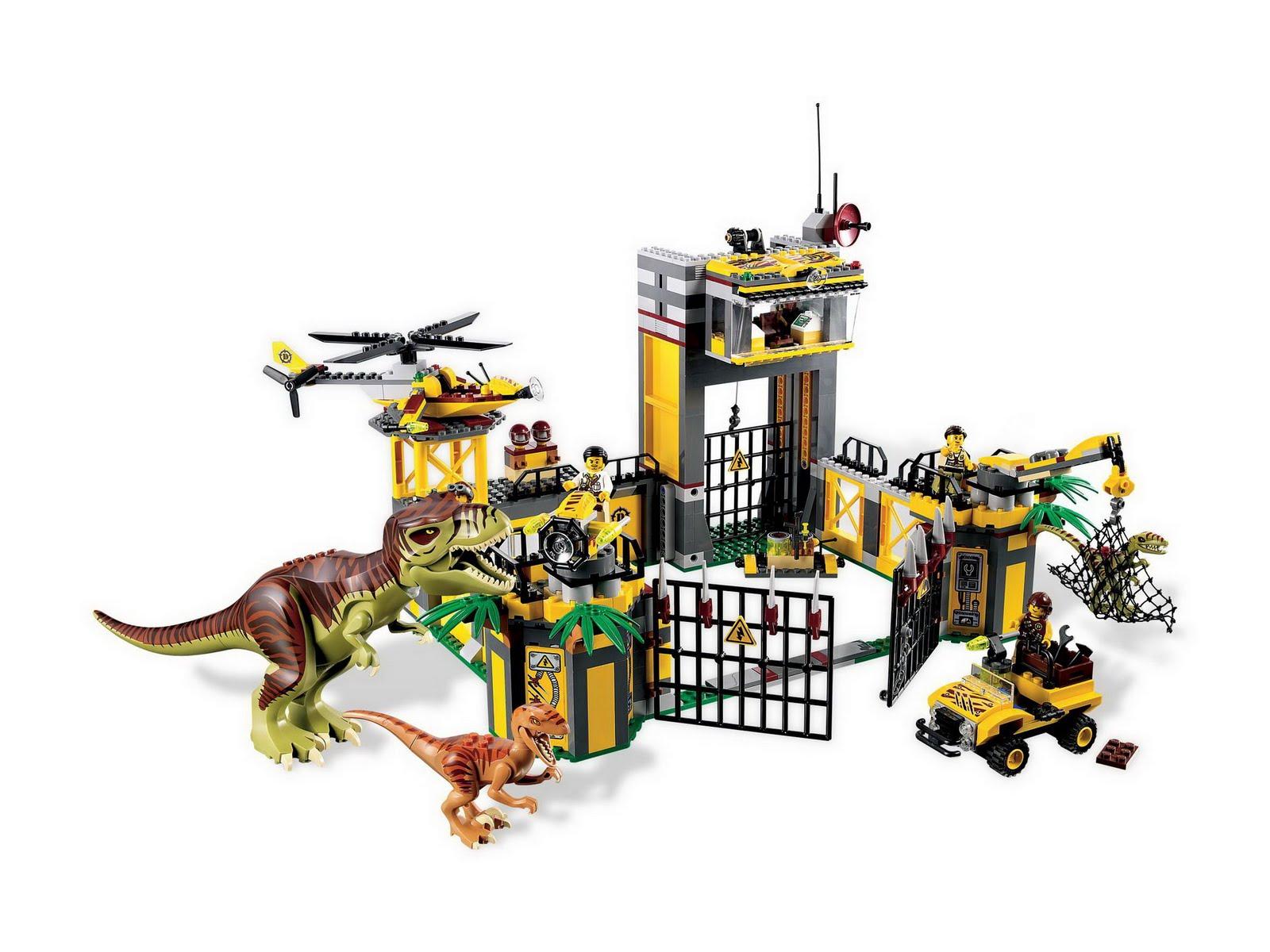 Repubblick set database lego 5887 dino defense hq - Lego dinosaures ...