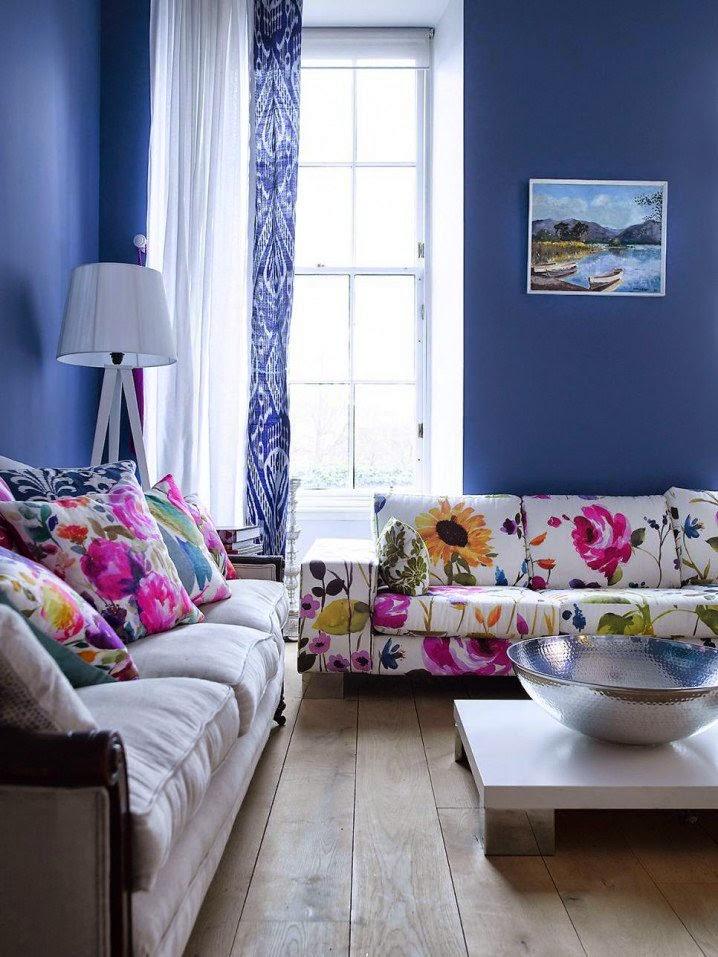 Цветочный Узор в Вашей Гостиной