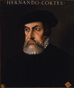1521: Hernán Cortés conquista Tenochtitlán dando fin al imperio azteca