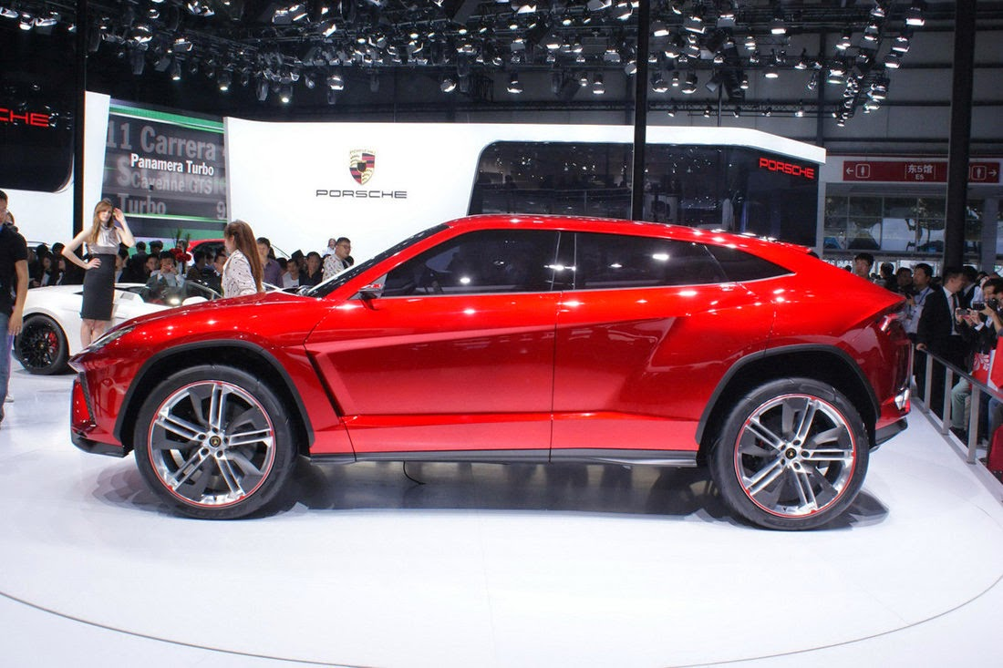 2016 Lamborghini Urus Concept SUV - With a sporty and elegant model of ...
