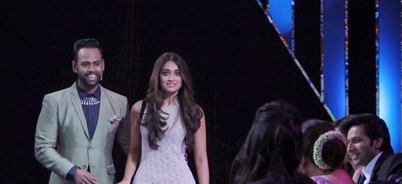 Nargis, Varun & Ileana Dcruz at India's Got Talent to promote 'Main Tera Hero'