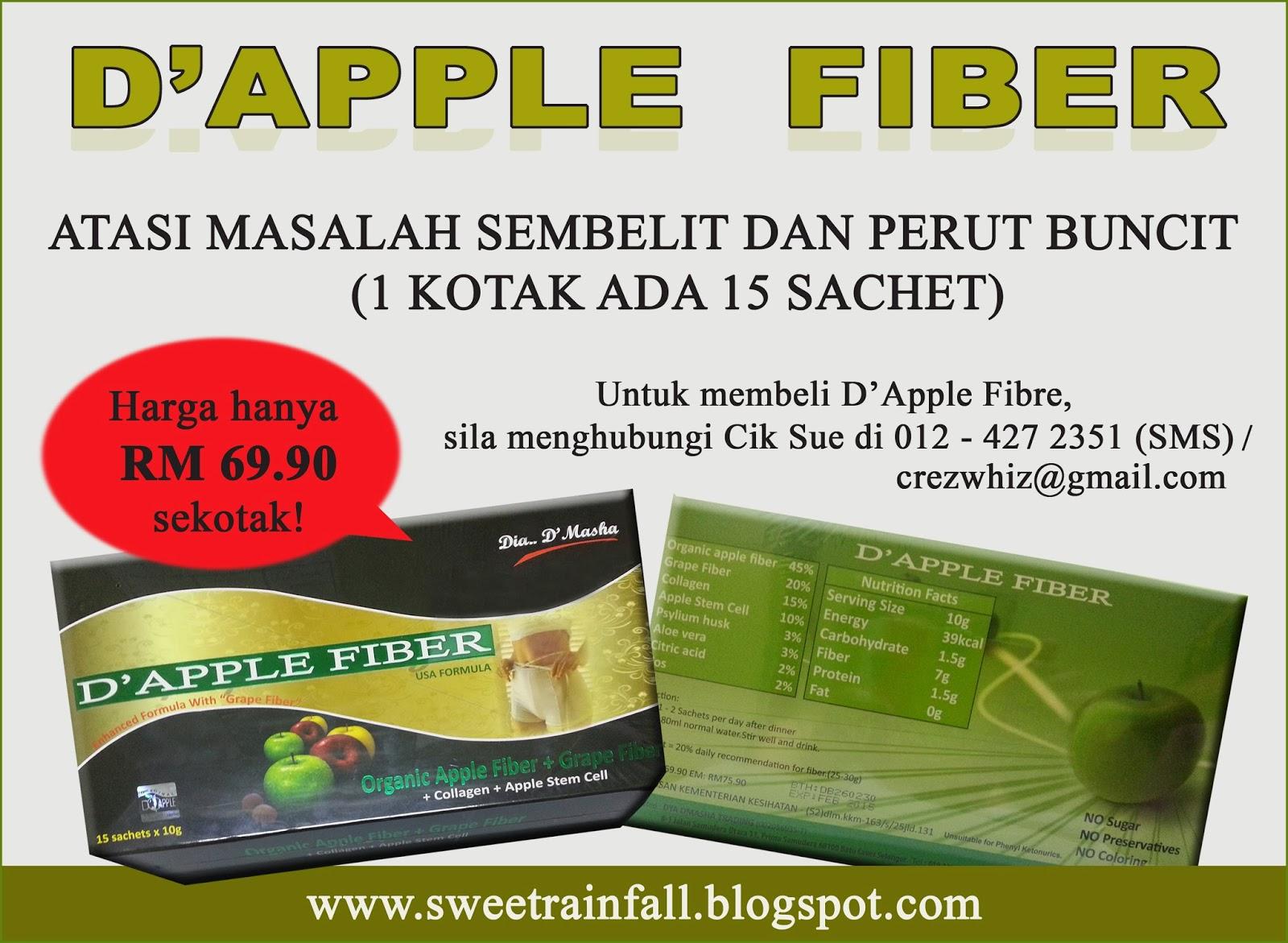 D Apple Fiber