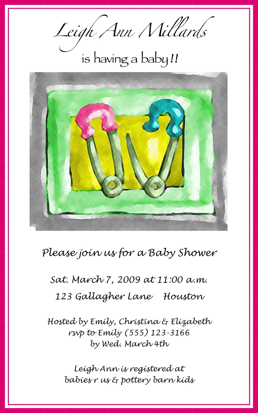 Baby Shower Gift Ideas When You Dont Know The Gender : Created just for you may